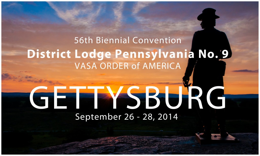 56th Biennial Convention of District Lodge Pennsylvania No. 9 @ Wyndham Gettysburg | Gettysburg | Pennsylvania | United States